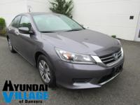 2014 HONDA ACCORD LX IN MODERN STEEL METALLIC **