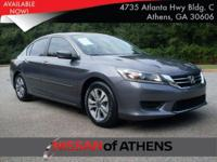 Look at this 2014 Honda Accord Sedan LX. Its Variable