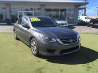 This 2014 Honda Accord Sedan LX is offered to you for