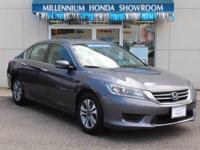 This Honda Certified Accord Sedan 4dr I4 CVT LX   the