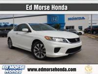 This 2014 Honda Accord Coupe LX-S is proudly offered by