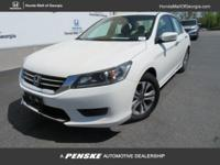 Honda Certified, ONLY 32,487 Miles! LX trim. PRICE DROP