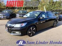 Options:  2014 Honda Accord Hybrid Plug-In|Advertised