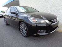 This 2014 Honda Accord Sedan 4dr 4dr I4 CVT Sport Sedan