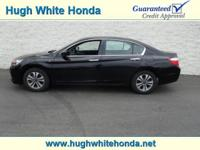 New Arrival! LOW MILES FOR A 2014! This 2014 Honda
