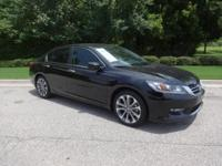 Accord Sport and LIFETIME ENGINE WARRANTY!. In a course