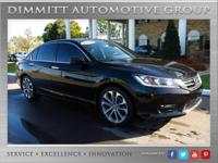 Beautiful 2014 Honda Accord Sport with Leather, 18
