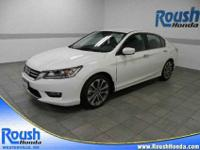 BOUGHT, SERVICED, AND TRADED AT ROUSH HONDA! This one