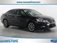 This outstanding example of a 2014 Honda Accord Sedan