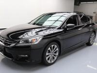 2014 Honda Accord with 2.4L I4 DI Engine,6-Speed Manual