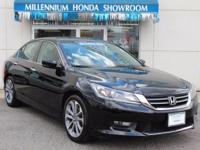 This Honda Certified Accord Sedan 4dr I4 Man Sport has