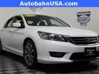 White Orchid Pearl 2014 Honda Accord Sport FWD CVT 2.4L