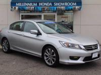 This Honda Certified Accord Sedan 4dr I4 CVT Sport  is