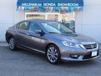This Honda Certified Accord Sedan Sport  has been