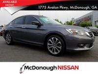 Look at this 2014 Honda Accord Sedan Sport. Its