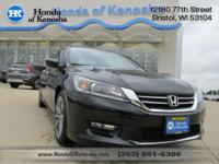 This 2014 HONDA ACCORD SPORT is ready just for you!