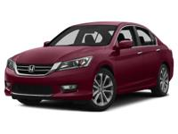 Options:  2014 Honda Accord Sport|One Of The Best