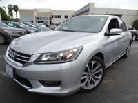 Options:  2014 Honda Accord Sport|Silver|Dually! The