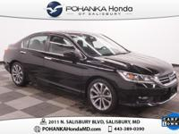 2014 Honda Accord Sport, Black on Black and Honda