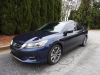 We are excited to offer this 2014 Honda Accord Sedan.