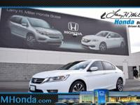 Only 30,649 Miles! Boasts 34 Highway MPG and 26 City