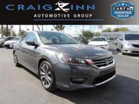 PREMIUM & KEY FEATURES ON THIS 2014 Honda Accord Sedan