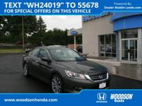 2014 Accord Sport Honda Certified. Join us at Woodson