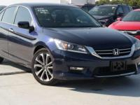 Recent Arrival! Certified. 2014 Honda Accord Sport