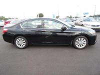 Come see this 2014 Honda Accord Sedan 4dr V6 Auto