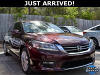 This Accord features: Navigation, Power Sunroof, BACKUP