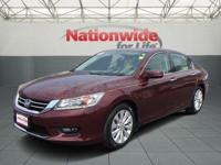 Options:  2014 Honda Accord Sedan Touring|Red/|V6 3.5 L