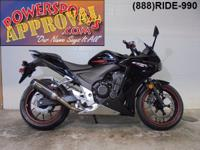 2014 Honda CBR600F Crotch Rocket for sale with only
