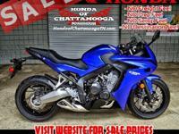 Leftover Honda CBR650F Sport Bike SALE : Honda of