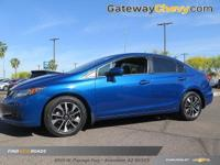 2014 Honda Civic EX CARFAX One-Owner. Clean CARFAX.