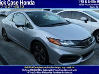 Options:  2014 Honda Civic Coupe Ex / V4 1.8 L