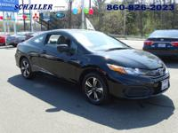ONE OWNER, CLEAN CARFAX, and HONDA CERTIFIED. Civic EX,