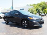 **REDUCED PRICE**2014 Honda Civic EX CARFAX One-Owner.