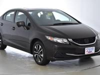 CARFAX One-Owner. This 2014 Honda Civic EX in Brown