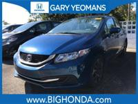 This 2014 Honda Civic Includes. Cloth. Recent Arrival!