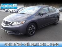 2014 Honda Civic EX CLEAN CARFAX ONE OWNER, AUTOMATIC,
