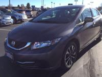 Energy-efficient and gas-sipping, this 2014 Honda Civic