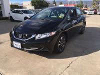 Options:  2014 Honda Civic Seda Ex|Black|Automatic|1.8L