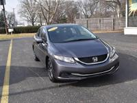 This 2014 Honda Civic Sedan EX is offered to you for