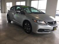 Civic EX, 4D Sedan, 1.8L I4 SOHC 16V i-VTEC, CVT, and