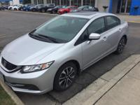 This 2014 Honda Civic Sedan EX is proudly offered by