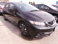 Check out this 2014 Honda Civic Sedan EX. Its Variable