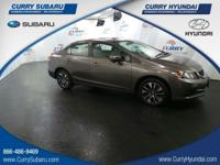 Come see this 2014 Honda Civic Sedan EX. Its Variable
