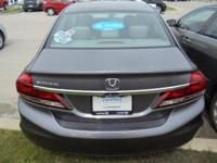 Certified. CARFAX One-Owner. ** SUNROOF/MOONROOF **, **
