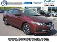 Carfax 1 Owner! Accident Free! 2014 Honda Civic EX,