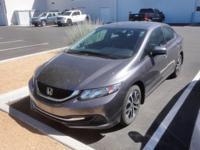 2014 Honda Civic EX Grey FWD CVT 1.8L I4 SOHC 16V